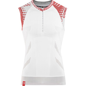 Compressport Trail Running - Camiseta sin mangas running - blanco